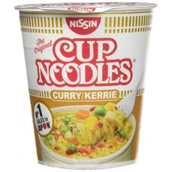 Nissin Cup noodle curry 67g