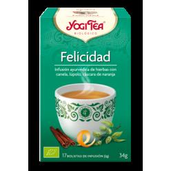 Felicidad Yogi Tea 34G